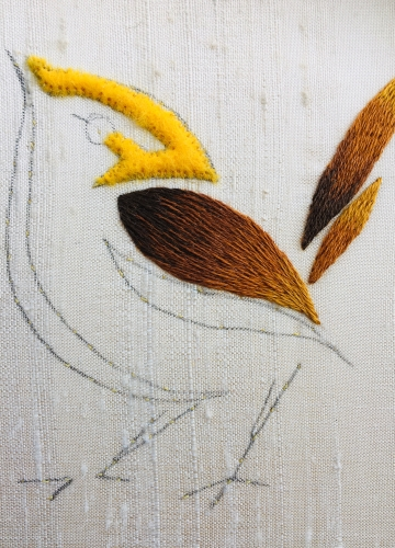 Goldwork-Silkshaded-Sparrow