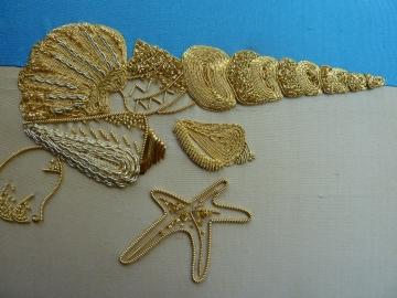Seashells-Gold-